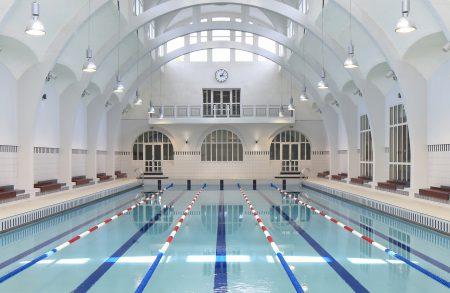 Tna architectes paris eau sports r habilitation for Piscine halle